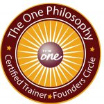 The One Philosophy Certified Trainer badge